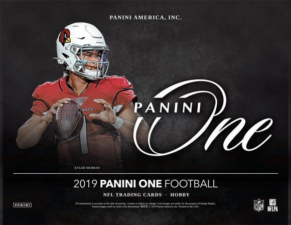 2019 Panini One Football Box