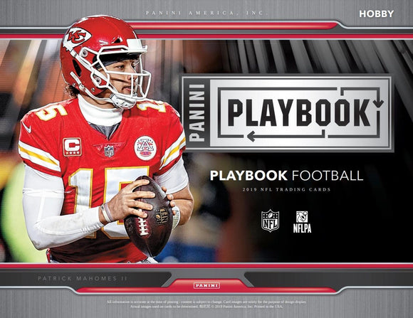 2019 Panini Playbook Football 1 Box Break #2