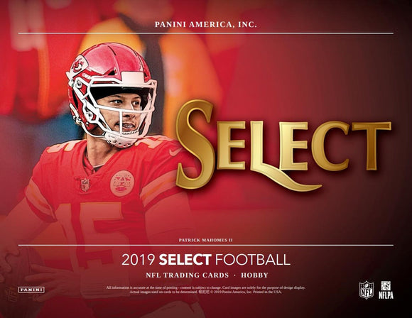 2019 Panini Select Football Box Break #4