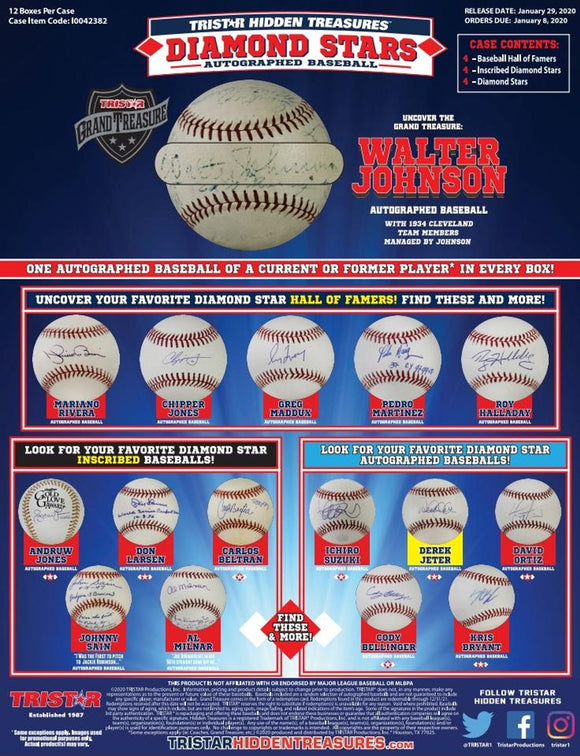 2020 Tristar Diamond Stars Signed Break #1