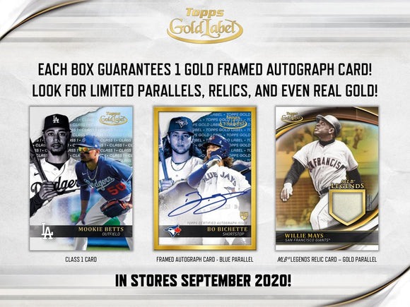 2020 Topps Gold Label Hobby Box