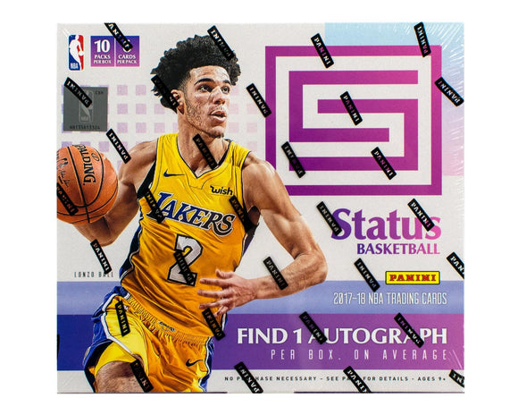 2017-18 Panini Status Basketball Box