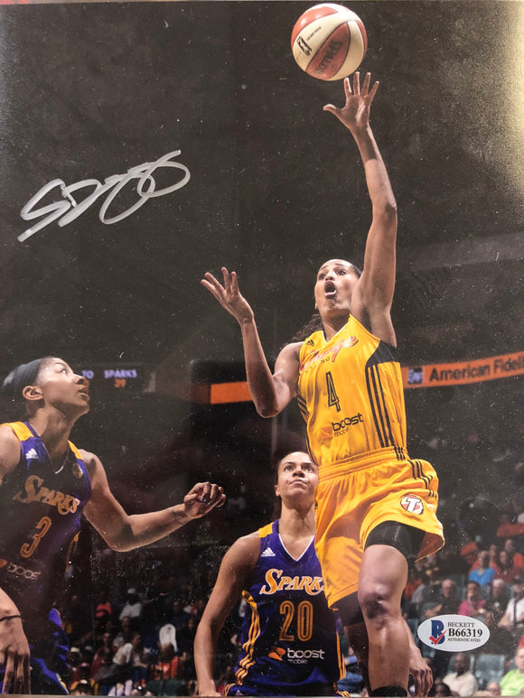Skylar Diggins Signed Basketball 8x10 Photo Beckett COA