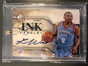 Russell Westbrook 2009/10SP Signature Edition INK Credible Autograph12/149