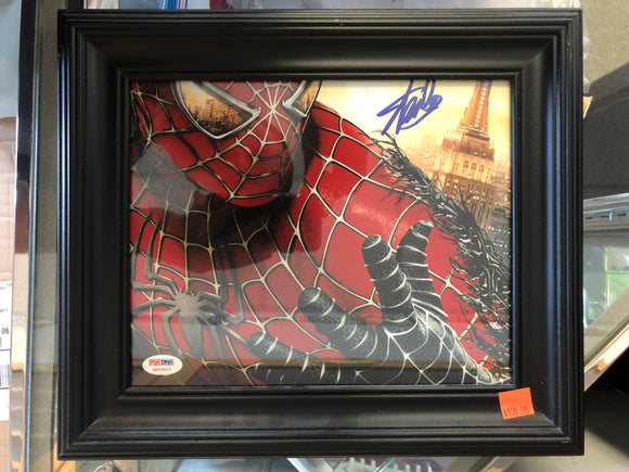 Stan Lee Signed Framed 8x10 PSA/DNA