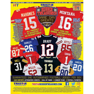 2020 Tristar Game Day Greats Jersey Hobby Box