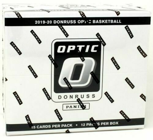 2019/20 Panini Donruss Optic Basketball Cello Box