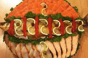 Deluxe Smoked Fish Buffet