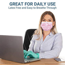 Load image into Gallery viewer, Black Face Mask Disposable Breathable Mouth Cover Black Breathable Masks For Daily Protection Air Pollution, Dust-proo (50pcs)