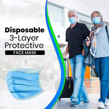 Load image into Gallery viewer, Disposable 3-Layer Protective, Soft Skin Layer Face Mask Bulk Buy