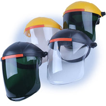 Load image into Gallery viewer, Face Shield Anti-Scratch & Anti-Fog Professional Coated Clear Lens Headgear