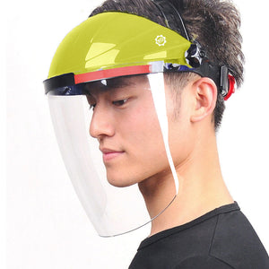 Face Shield Anti-Scratch & Anti-Fog Professional Coated Clear Lens Headgear