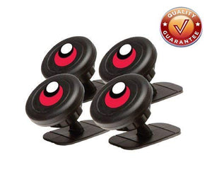 Target Gear Smart Mount - Universal Stick On Dashboard Magnetic Car Mount (4 PK)
