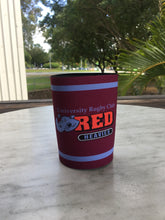 Load image into Gallery viewer, Red Heavies Stubbie Cooler