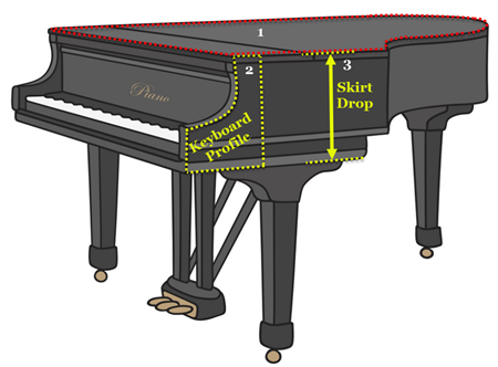Piano Template Instructions