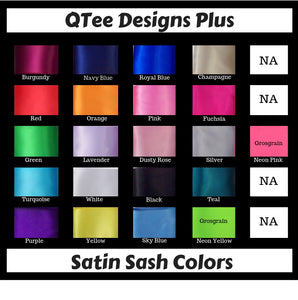 Sash Colors