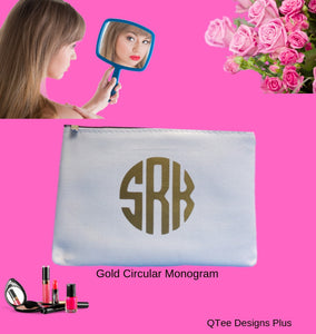 Circular Monogram Canvas Makeup Bags