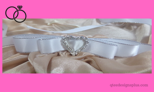 flower girl bride sash belt with rhinestones