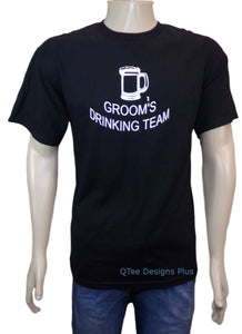 Groom's Drinking Team  Bachelor Party T-Shirt