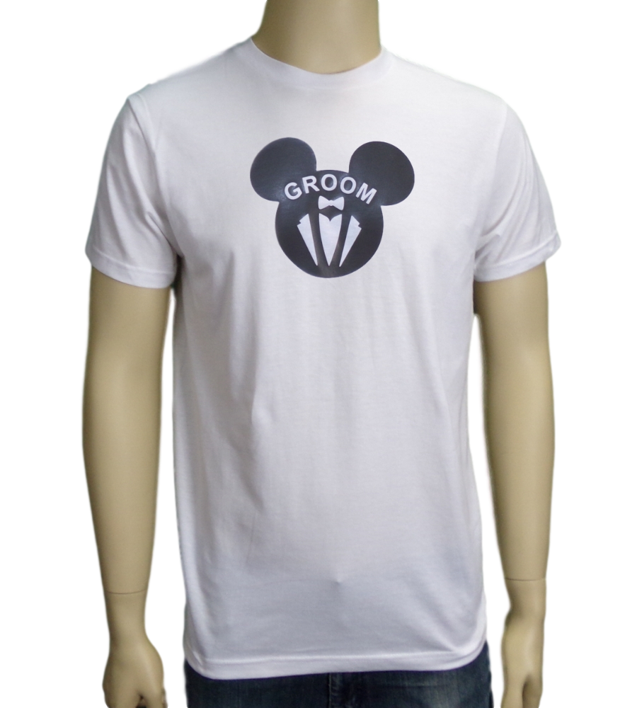 Mickey Mouse Groom Bachelor Party T-Shirt