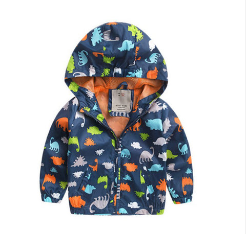 Theo 2 - Dinosaur Windbreaker Jacket