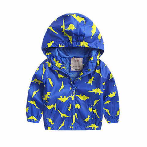Theo - Dinosaur Windbreaker Jacket