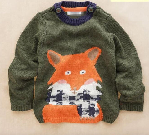 Fred - Fox design jumper