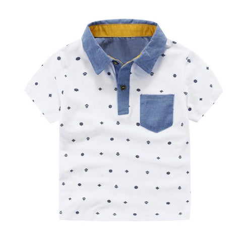 AIDEN 2 pattern detail shirt