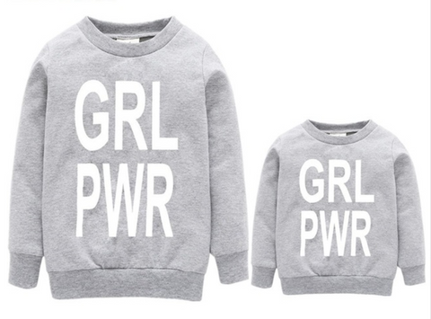 Girl Power Matching Sweaters