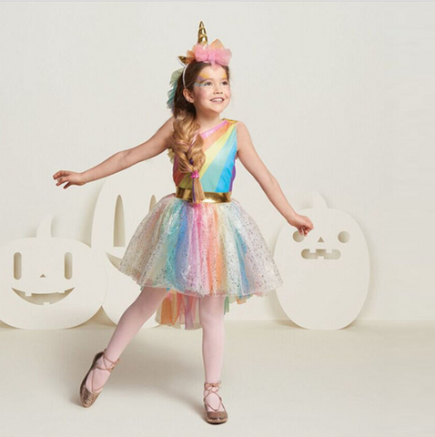 Aidlyn - Unicorn tutu party dress