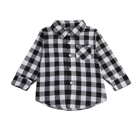Eddy 2 - Black Check shirt