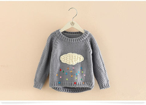 Ona - Cloud Patterned Jumper