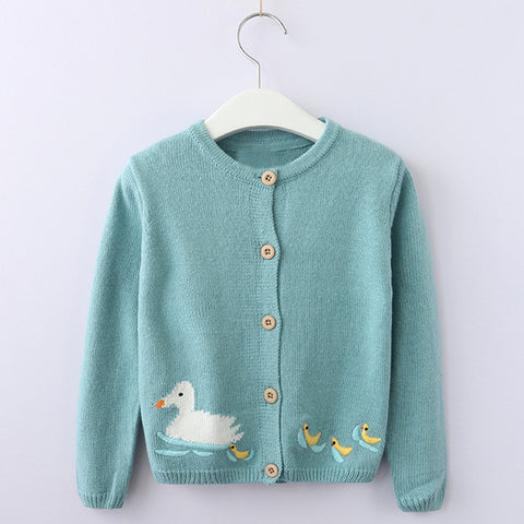 Penny - Cute animal cardigan