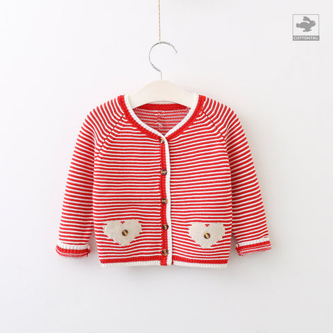EVA Stripe cardigan