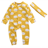 HARPER - footless baby grow