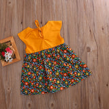 Liya - Autumn Flowery Dress