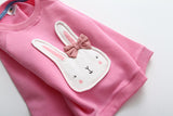 Rosie - Lightweight sweatshirt with rabbit appliqué