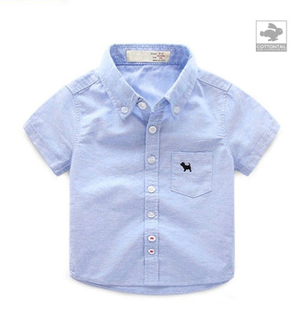 HENRY Oxford shirt s/s