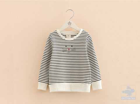 MIA stripey sweatshirt