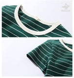 TOBY Striped t-shirts
