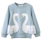 Paisley - Long Sleeved Swan Top