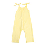 MOLLY Yellow Jumpsuit