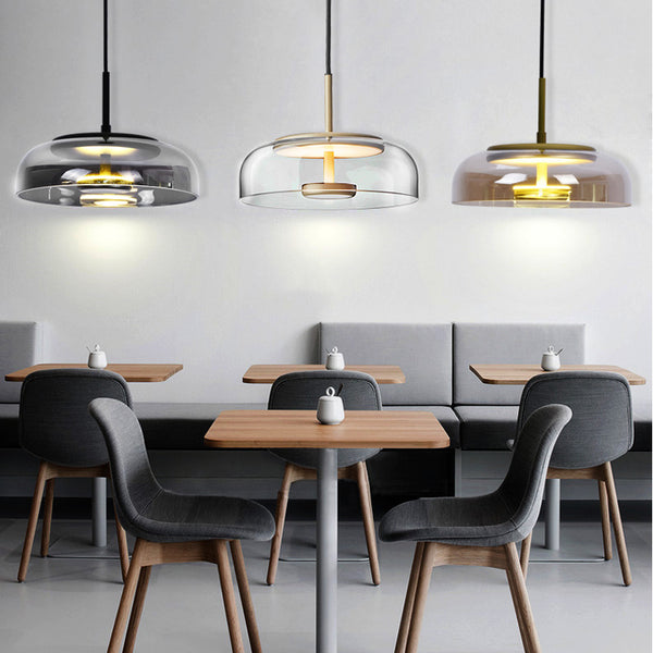Alcina 1-Light Dome Pendant