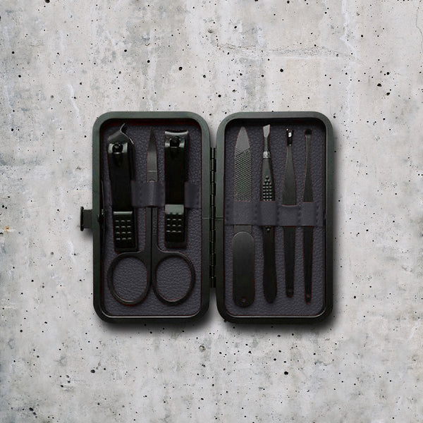 Luxury Manicure Kit - Magnetic Black