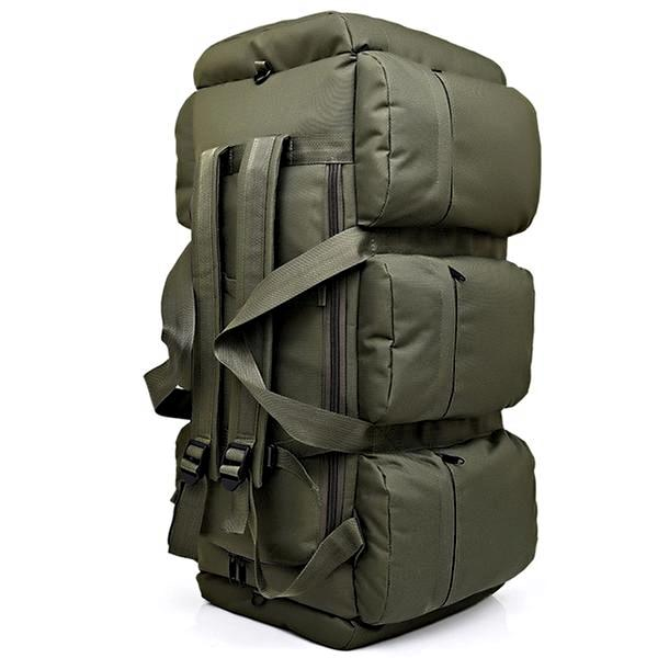 Deluxe Camper Travel Bag Army Green Mens