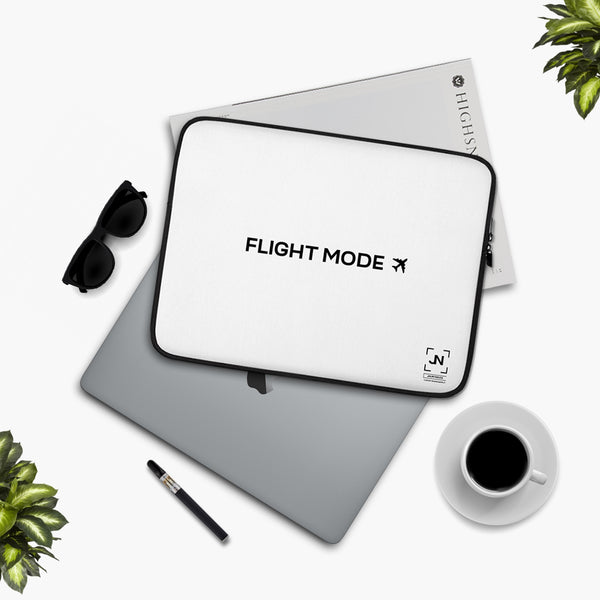 Flight Mode Laptop Sleeve
