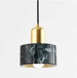 Bella 1-Light Marble Pendant