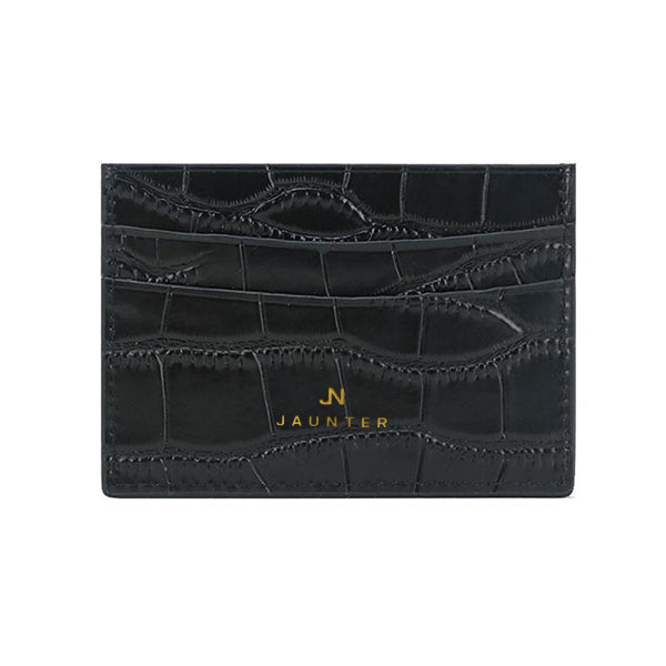Croco Slim Card Wallet
