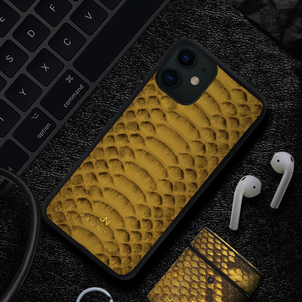 Yellow-toned Scale iPhone Case