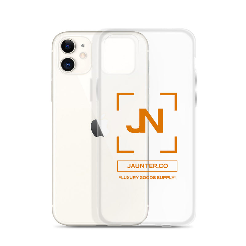 JN iPhone Case - Orange